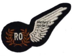 WW2 Radio Observer Half Brevet (Wing)