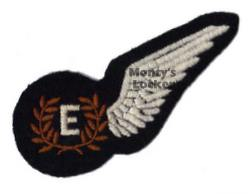 WW2 Flight Engineer Half Brevet (Wing)