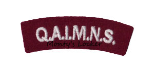 WW2 Q.A.I.M.N.S. Shoulder Title