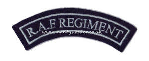 RAF Regiment Shoulder Title (Standard)