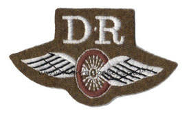 WW2 DR with Wings (Despatch Rider)