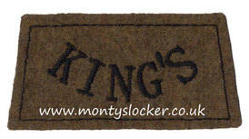 King's (Liverpool Regiment) Black on Khaki Slip