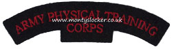 WW2 Army Physical Training Corps (APTC) Shoulder Title