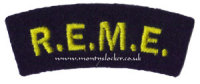 WW2 REME Shoulder Titles (Pair)