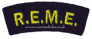 WW2 REME Shoulder Title