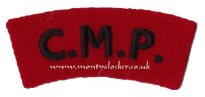 WW2 CMP Shoulder Titles (Pair)