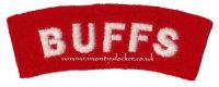 WW2 Buffs Shoulder Titles (Pair)