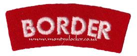 WW2 Border (Standard) Shoulder Title