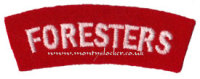 WW2 Foresters Shoulder Titles (Pair)