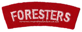 WW2 Foresters Shoulder Title