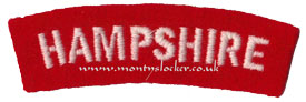 WW2 Hampshire Shoulder Title