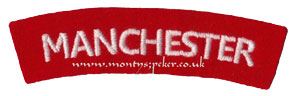 WW2 Manchester Shoulder Title
