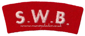 WW2 SWB Shoulder Title