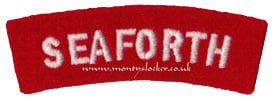 WW2 Seaforth Shoulder Title