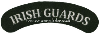WW2 Irish Guards Shoulder Titles (Pair)