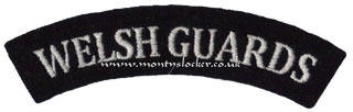 WW2 Welsh Guards Shoulder Titles (Pair)