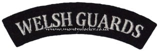 WW2 Welsh Guards Shoulder Title