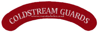 WW2 Coldstream Guards Shoulder Title