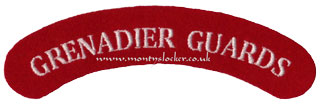 WW2 Grenadier Guards Shoulder Titles (Pair)