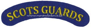 WW2 Scots Guards Shoulder Title