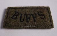 Buffs Black on Khaki Slip