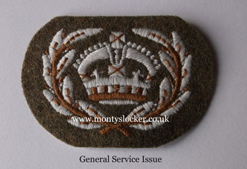 WOII (Kings) Crown with Wreath General Service Issue