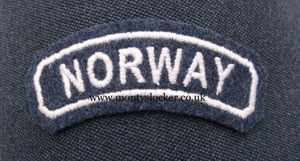RAF Norway Nationality Title (Curved)