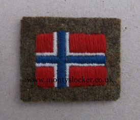WW2 Norway Nationality Flag