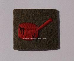 WW2 Royal Welch Fusiliers (4th Bn) Regimental Flash