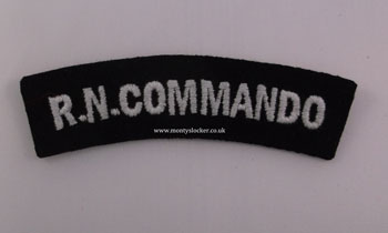 WW2 RN Commando Shoulder Title