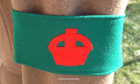 Women's Land Army (WLA) New Recruit Armband