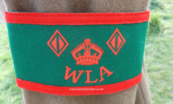 Women's Land Army (WLA) 2 Year Armband
