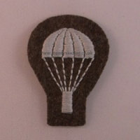WW2 Para Arm Badge (Lightbulb) - with Basket