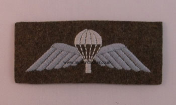 WW2 Para Wings (Rectangular Backed)