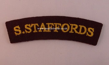 WW2 S.Staffords (Airborne) Shoulder Title