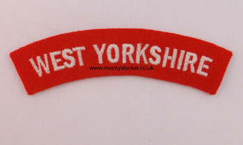 WW2 West Yorkshire Shoulder Title