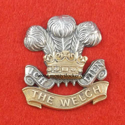 The Welch Regiment Cap Badge