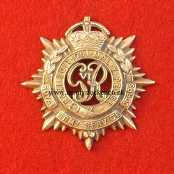 Royal Army Service Corps (RASC) Cap Badge