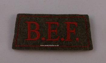 BEF Khaki Slip