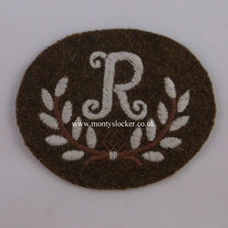 WW2 R in a Wreath (Rangetaker)