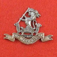 Duke of Wellington's Regiment (West Riding) Cap Badge