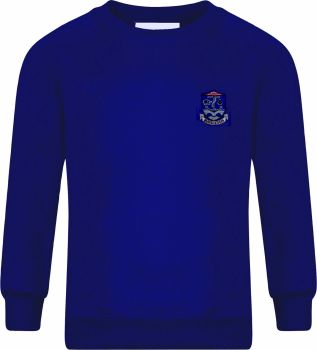 Bursledon School Sweatshirt  with Badge