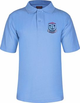 Bursledon School  Polo Shirt with Badge