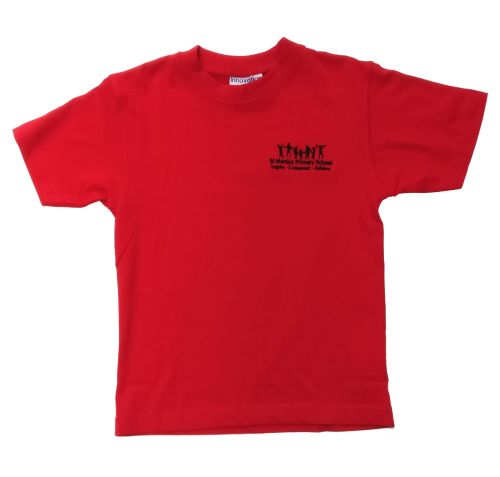 St Monica P E T-shirt