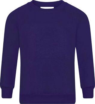 Netley Abbey Infants  Purple Sweatshirt with Badge