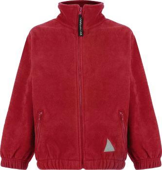 St Monica School Fleece Jacket with badge