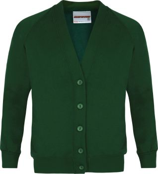St Patricks Cardigan with Badge