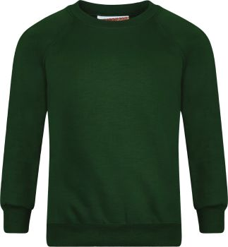 St Patricks Sweatshirt with Badge