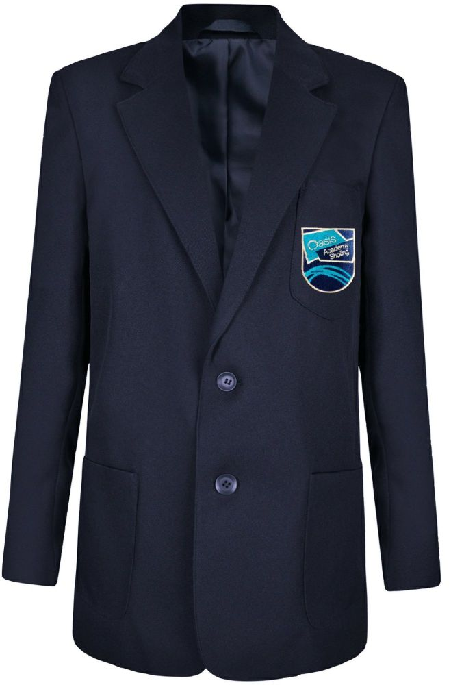 Oasis Academy Sholing School Blazer with Badge