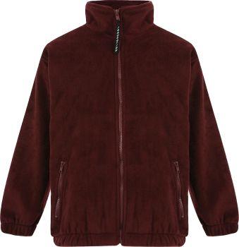 Ludlow Junior School Fleece Jacket with Badge